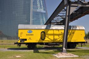 Bananenwagen Hafenbahn Frankfurt am Main