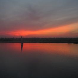 20_Abendstimmung auf dem Nil