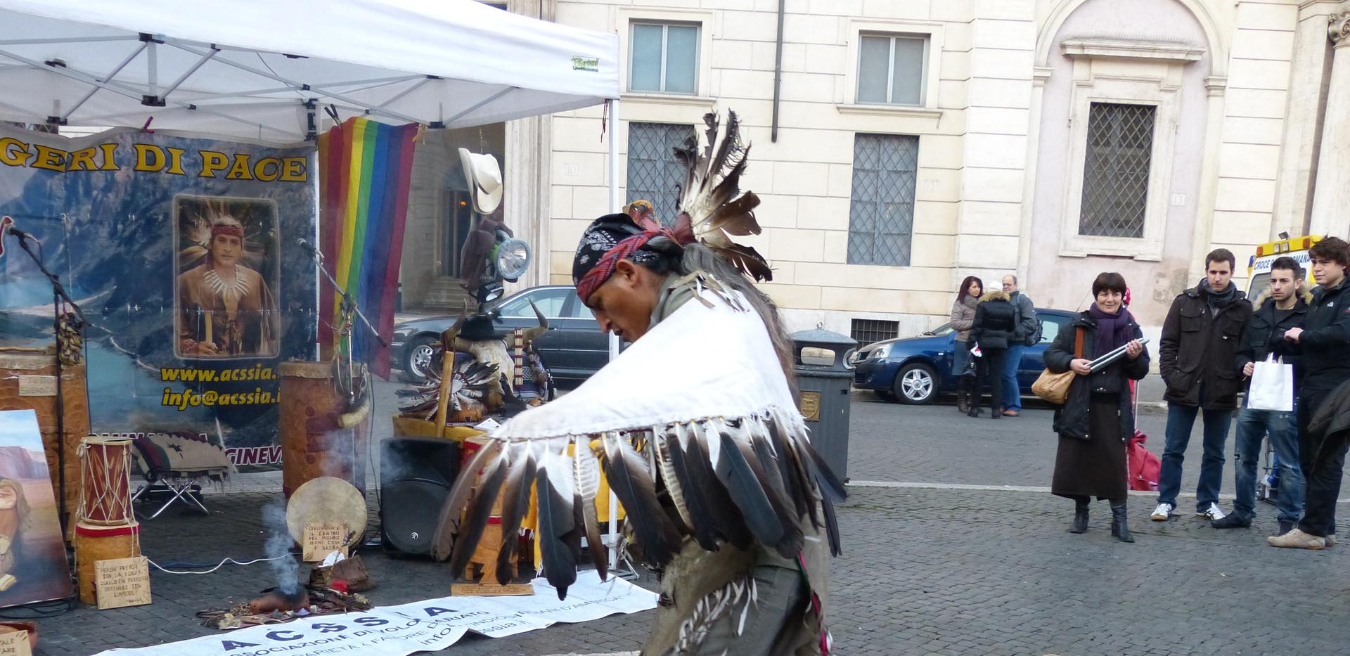 09  Rom  Pza Navona schamanisches Ritual