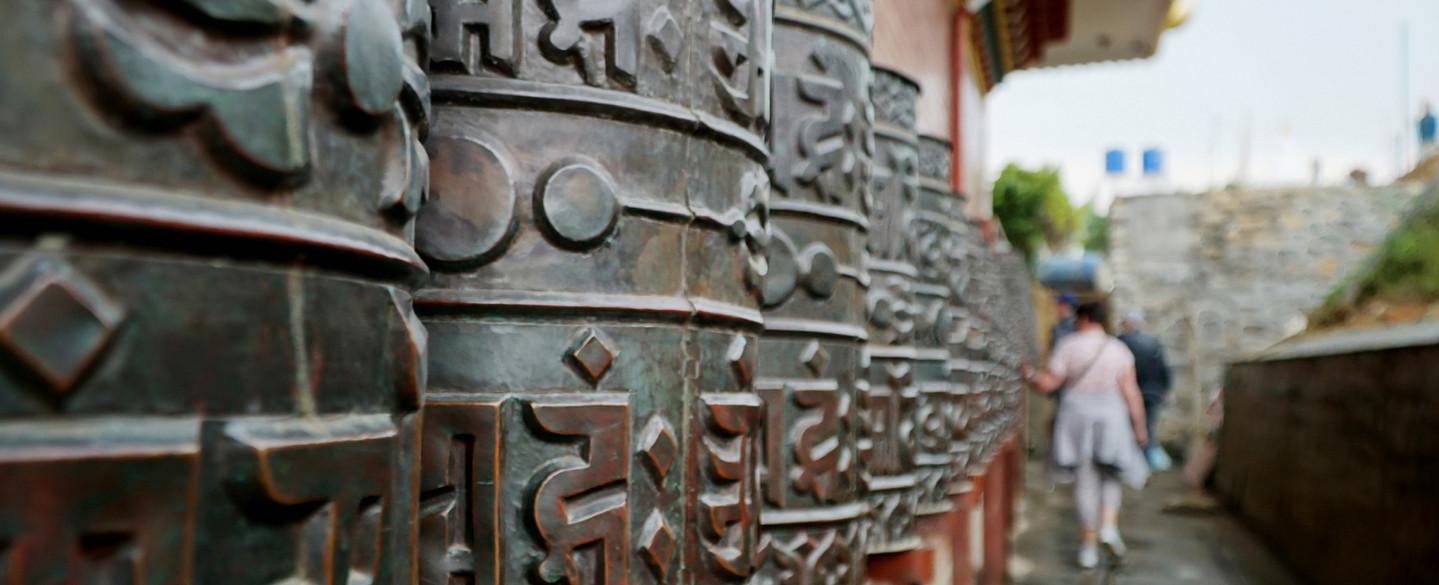 Gebetsmühle aus Nepal