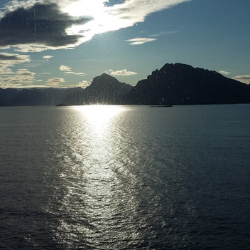 Stimmungsvoller Fjord