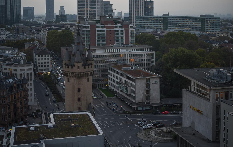 Frankfurt Strassenschlucht u. Eschenheim