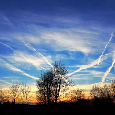 41 Wolkenlandschaft ueber Bad Vilbel
