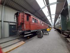 """historischer Reisezugwagen des """"Orientexpress"""""""