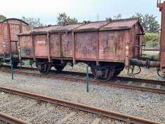historischer Klappdeckelwagen