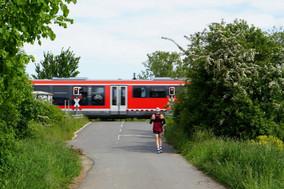Bahnübergang am Stockheimer Lieschen