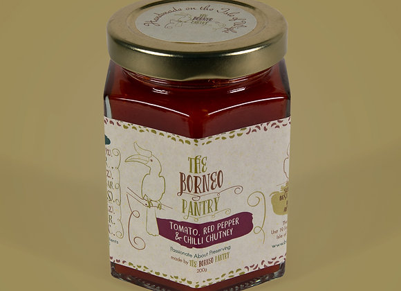 Tomato, Red Pepper and Chilli Chutney