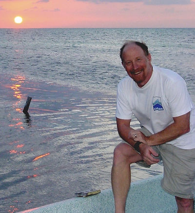 Bob Steneck Belize sunset.jpeg