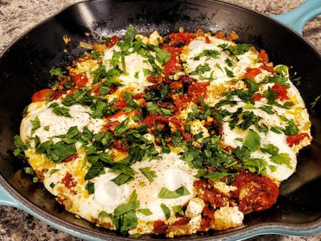 Easy Mediterranean Eggs