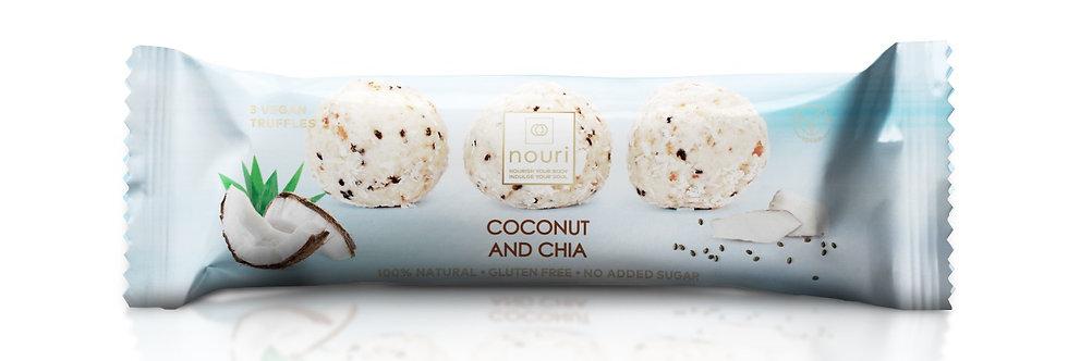Nouri Vegan Coconut & Chai Vegan Truffles (3)