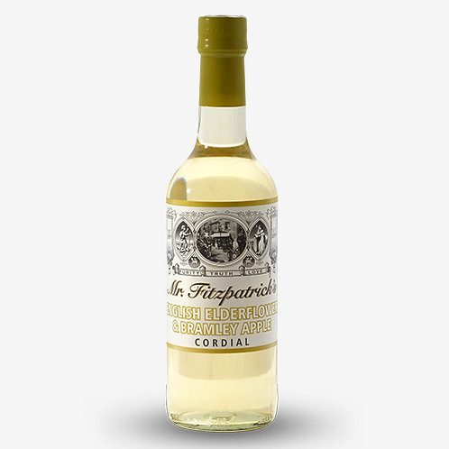 Mr Fitzpatrick's English Elderflower & Bramley Apple Cordial