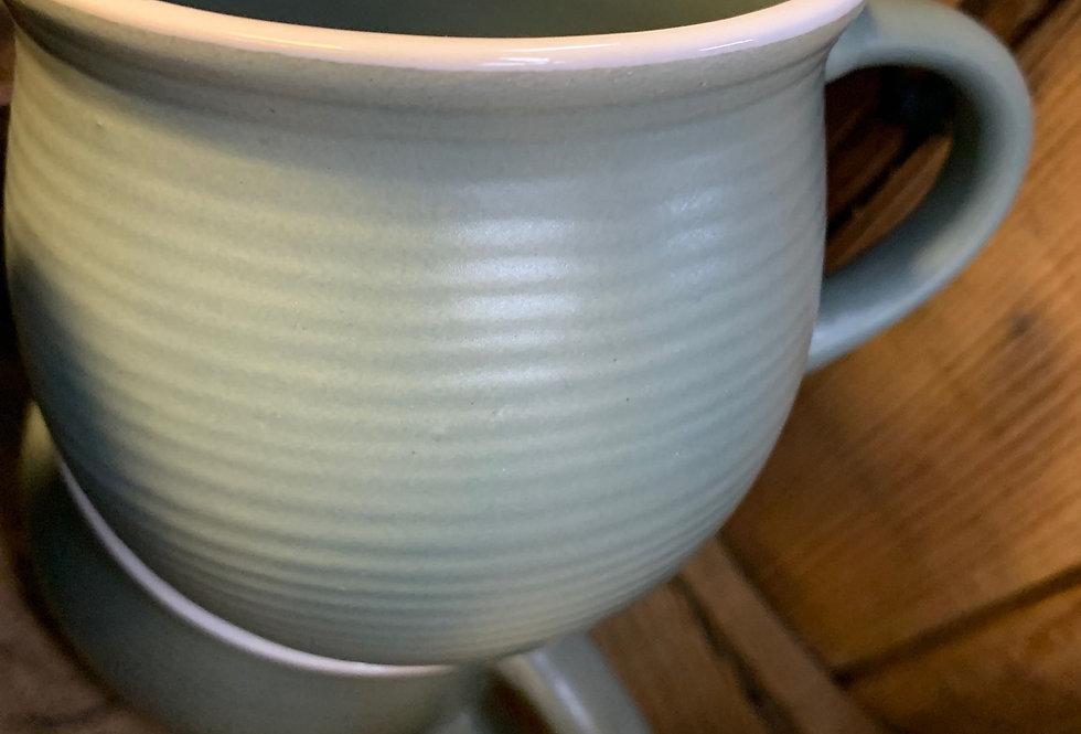 Stoneware Mug - Green