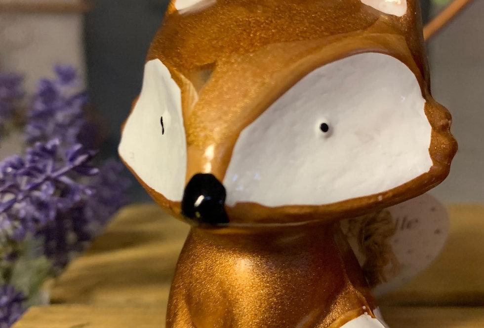 Metallic Fox Bauble