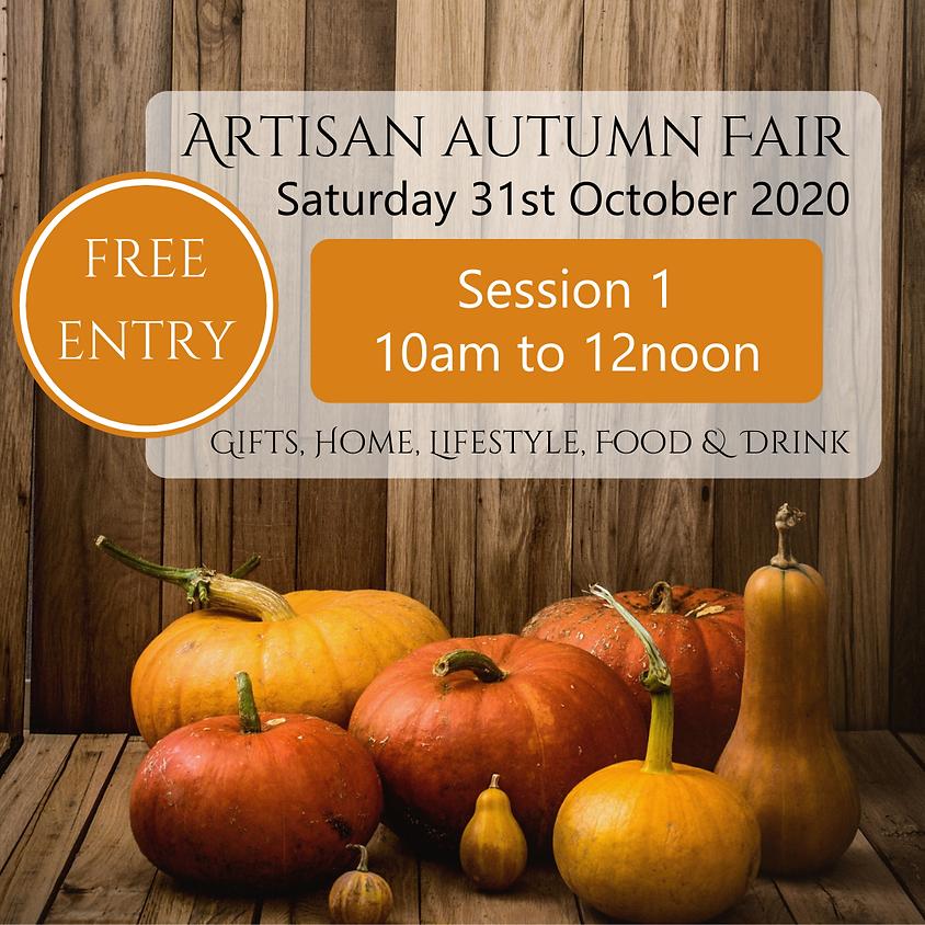 Artisan Autumn Fair - Session 1