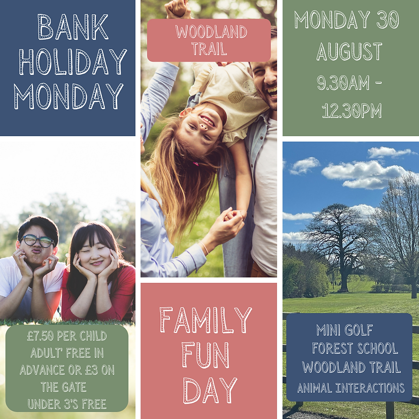 Bank Holiday Family Fun Day - Morning Session 9.30-12.30
