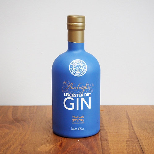 Burleighs Leicester Dry Gin (LCFC Edition) – 40% ABV