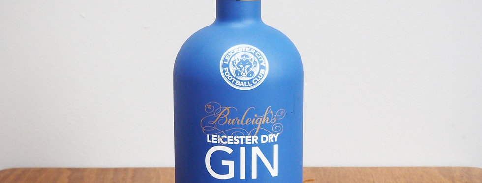 Burleighs Leicester Dry Gin (LCFC Edition) – 40% ABV