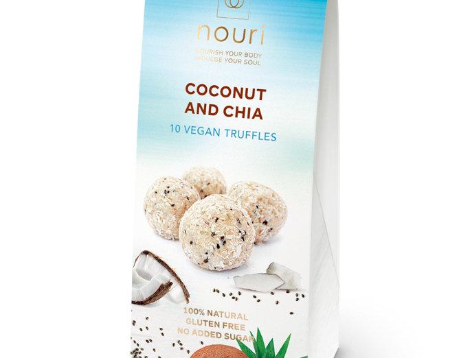 Nouri Vegan Coconut & Chai Vegan Truffles