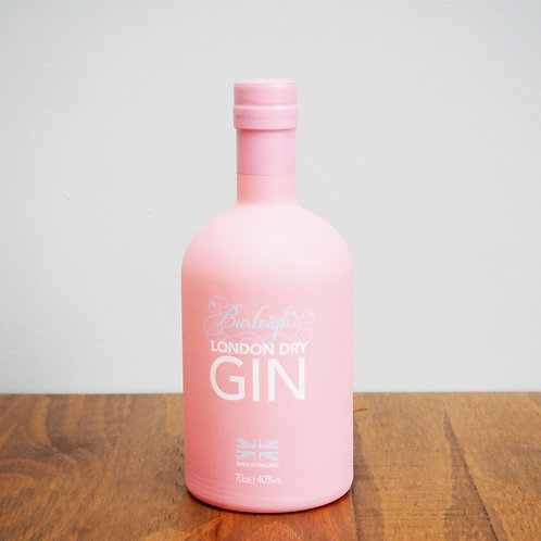 Burleighs Pink Limited Edition Gin - 40% ABV