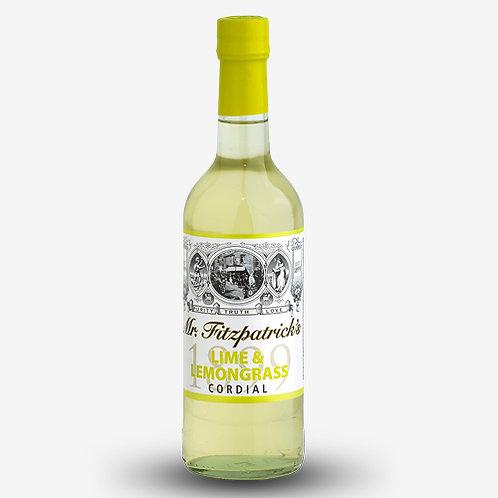 Mr Fitzpatrick's Lime & Lemongrass Cordial