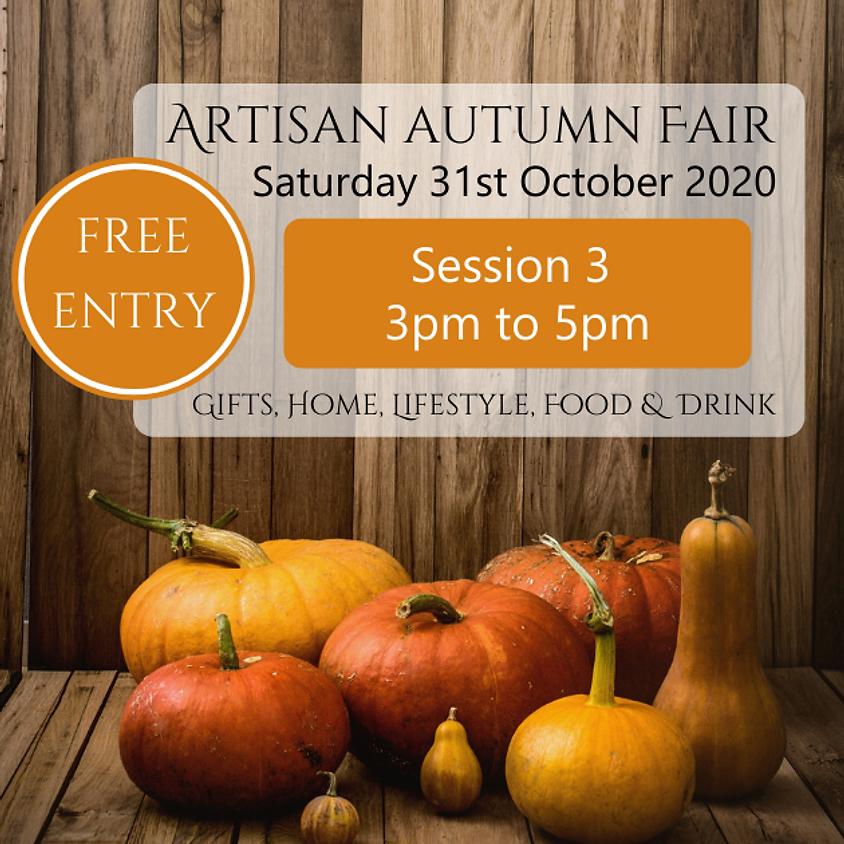 Artisan Autumn Fair - Session 3