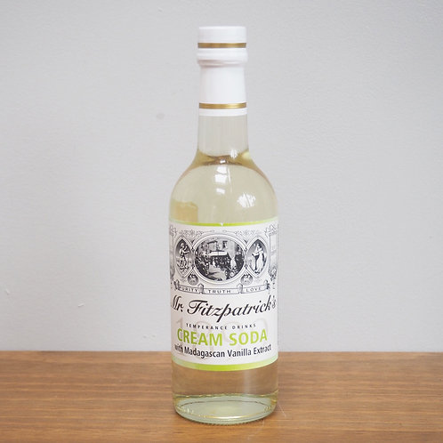 Mr Fitzpatrick's Cream Soda Cordial