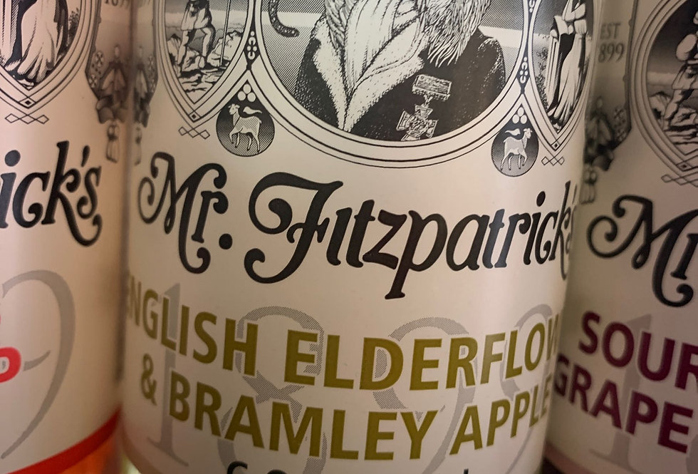Elderflower & Bramley Apple