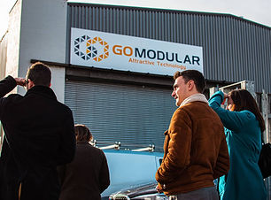 GO modular, modular construction, modular building
