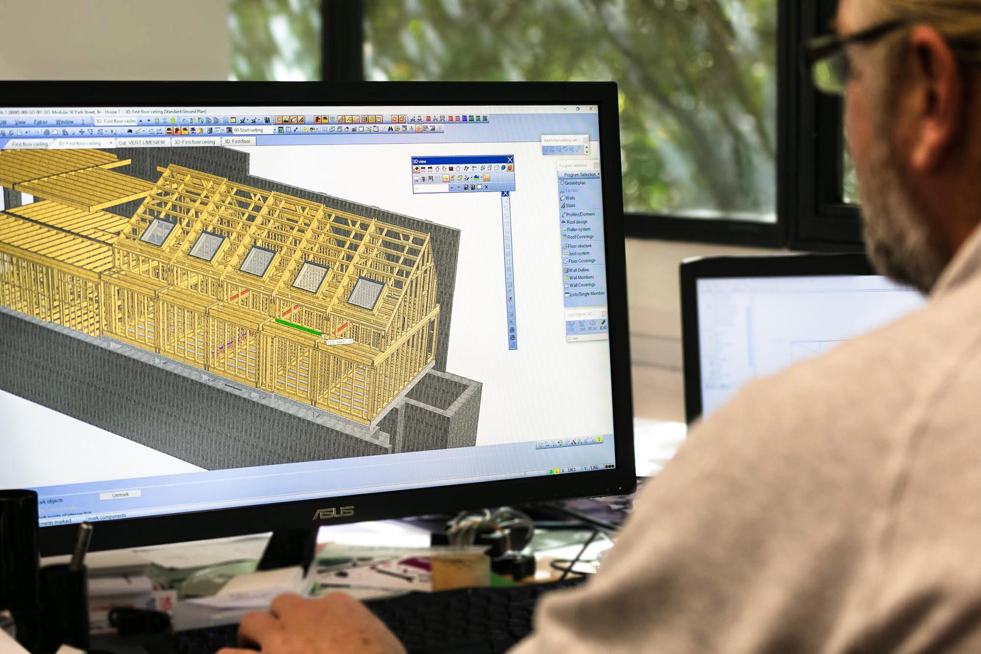 "<img src=""modular drawing.jpg"" alt=""modular construction drawing on the screen""/>"