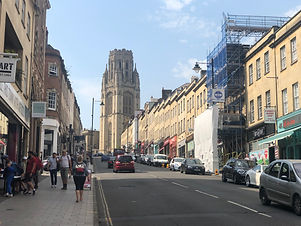 Prefabricated homes to be craned into place on Bristol's Park Street