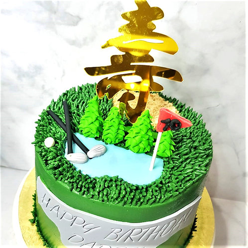 Golf Money Pulling Cake 2