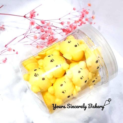 Winnie The Pooh Tsum Tsum Meringue Cookies