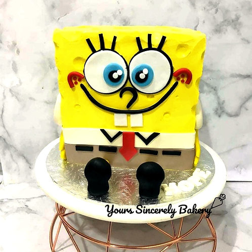 Spongebob 3D Customised Cake