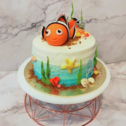 Finding Nemo Ocean Cake