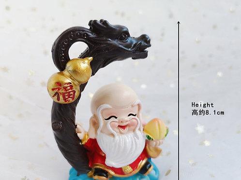 Longevity Figurine Shou Xing Gong 寿星公