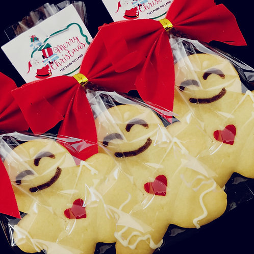 Gingerbreadman Cookies Christmas Individual Packaging (30pcs)