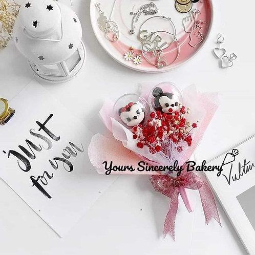 Mickey & Minnie Mouse Cake Pop Mini Bouquet