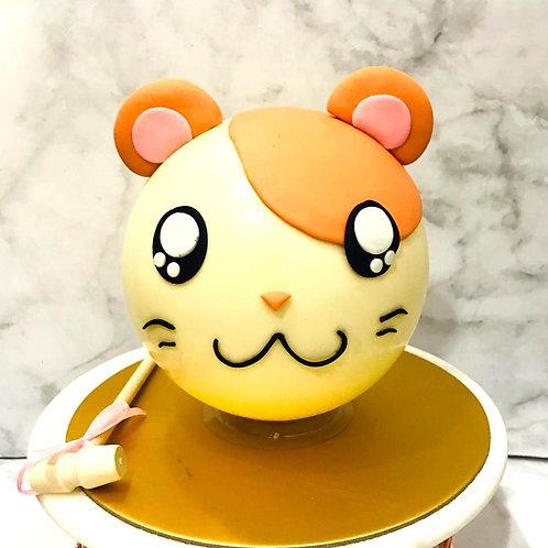 Hamtaro  Hamster Mouse Knock Knock Pinata Surprise Cake
