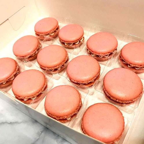 Pink Macarons (12pcs)