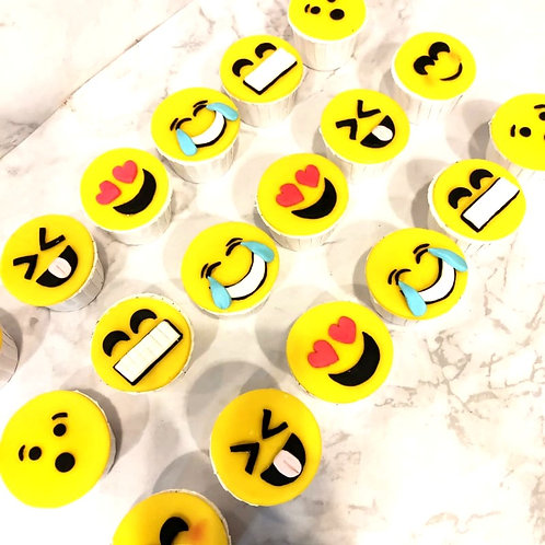 Emoji Cupcakes (12pcs)