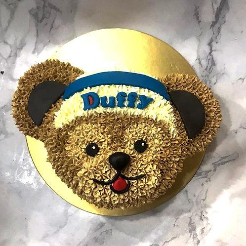 Duffy Bear Cream Cake