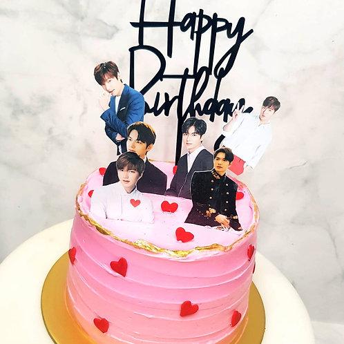Lee Min Ho Korean Oppa Cake