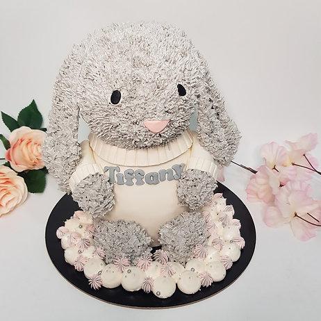 3D JellyCat Bunny Cake