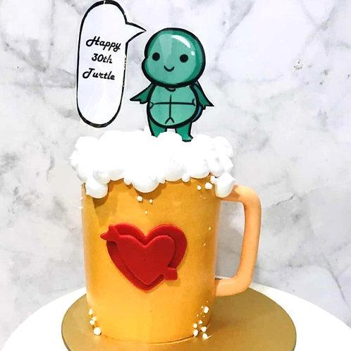 Real Beer/Liquor in a Mug Cake