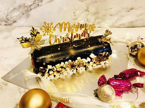 Premium Chocolate Mousse Christmas Logcake