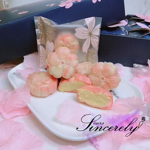Mini Sakura MSW Durian Snowskin Mooncake