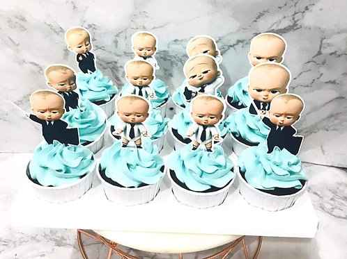 Baby Boss Cupcakes