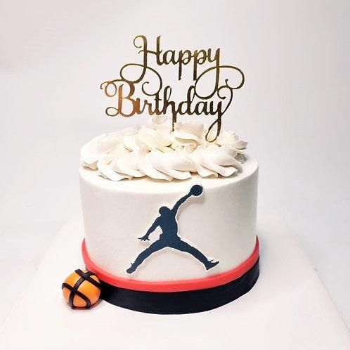 Air Jordan Basketball Money Pulling Cake