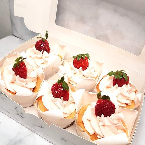 Mini Strawberry Shortcake (6pcs)