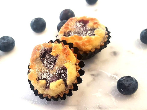 Delicious Blueberry Crumble Tarts (12pcs)
